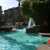 Photo taken at Flamingo GO Pool by Erica E. on 4/19/2012