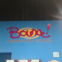 Photo taken at Bounce Trampoline Sports by Steven M. on 7/18/2012