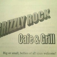 Photo taken at Grizzly Rock Cafe N Grill by Michelle S. on 2/4/2012