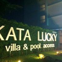 Photo taken at Kata Lucky Villas by _Katrin . on 4/27/2012