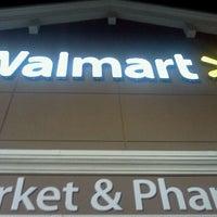 Photo taken at Walmart Supercenter by Daniel H. on 5/16/2012
