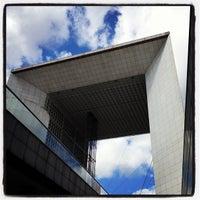 Photo taken at Grande Arche de la Défense by Luisa M. on 8/25/2012