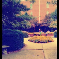 Photo taken at DeMoss Hall by Leah J. on 4/12/2012