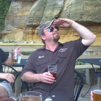 Photo taken at Joseph Wolf Brewery Patio by Dan S. on 6/29/2012