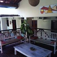 Photo taken at Pousada Baobá by zerosa on 7/24/2012