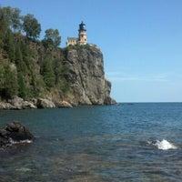 Photo taken at Split Rock Lighthouse by Sarah E. on 7/28/2012