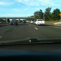 Photo taken at I-84 -- Hartford by Jeff C. on 9/16/2011