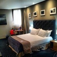 Photo taken at Hotel Silken Amara Plaza by Jordi L. on 8/5/2012