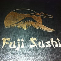 Photo taken at Fuji Sushi by Jen A. on 1/9/2011