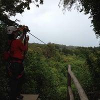 Photo taken at BIEA Zipline by TJ M. on 8/9/2012
