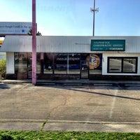 Photo taken at Megabus Stop by Steve S. on 3/28/2012