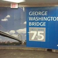 Photo taken at George Washington Bridge Bus Station by Krysta P. on 12/4/2011