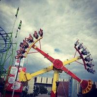 Photo taken at Stampede Park by Arkin C. on 7/8/2012