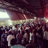 Photo taken at Dadar Railway Station by Ankit S. on 6/17/2012