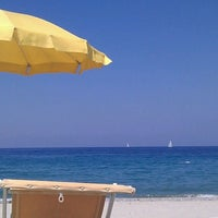 Photo taken at lido spiaggia D'oro by Tim M. on 8/6/2011