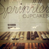 Photo taken at Sprinkles Cupcakes by Sebastian D. on 8/24/2012