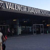 Photo taken at Estació de Valencia Joaquín Sorolla - AVE by Juan A. on 5/9/2012