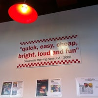 Photo taken at Five Guys by Brian G. on 11/6/2011