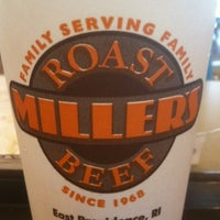 Photo taken at Miller's Roast Beef by Jeff G. on 9/5/2011
