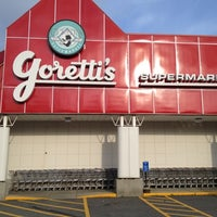 Photo taken at Goretti's Supermarket by Eric O. on 6/7/2012