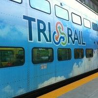 Photo taken at Tri-Rail - Boca Raton Station by Jeff K. on 8/8/2011
