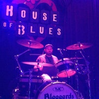 Photo taken at House of Blues by Blaggards on 9/1/2012