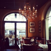 Photo taken at Pizzeria Molino Molard by Olesya N. on 4/8/2012
