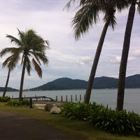 Photo taken at Marina Island Jetty Complex by Ayu Fieda on 12/12/2011
