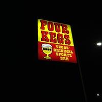 Photo taken at Four Kegs Sports Pub by David C. on 1/25/2012