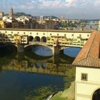 Photo taken at Ponte Vecchio by Henry K. on 10/19/2011