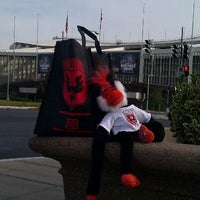 Photo taken at D.C. United Team Store by Elizabeth T. on 12/22/2011