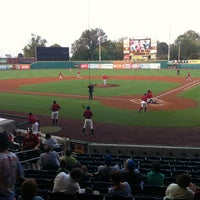 Photo taken at Bowling Green Ballpark by Tim A. on 8/20/2011