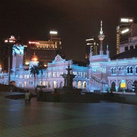 Photo taken at Bangunan Sultan Abdul Samad by ariff f. on 2/25/2012