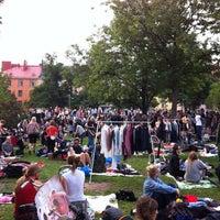 Photo taken at Kallion puistokirppis by Jacopo C. on 8/25/2011