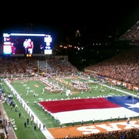 Photo taken at Darrell K. Royal-Texas Memorial Stadium by Kevin R. on 11/20/2011