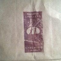 Photo taken at Modern Dwellers Chocolate Lounge by Trinh N. on 7/22/2012