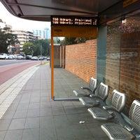 Photo taken at Pitt T-Way Bus Stop by Pek on 8/16/2011