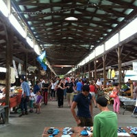 Photo taken at Ithaca Farmers Market by tympanogram D. on 9/8/2012