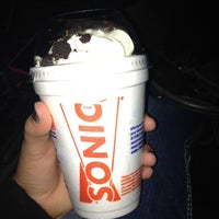 Photo taken at SONIC Drive In by Angelica Z. on 4/30/2012