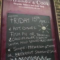 Photo taken at Konditor & Cook Ltd by Linda H. on 4/15/2011
