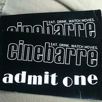 Photo taken at Cinebarre by Evan M. on 8/26/2012