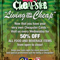 Photo taken at Cheap by Cheap on 8/11/2012