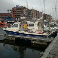 Photo taken at Jachthaven Scheveningen by Bas K. on 9/27/2011