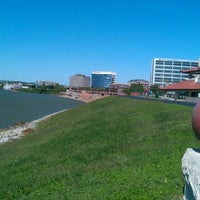 Photo taken at Evansville Riverfront by Dave F. on 9/30/2011