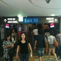 Photo taken at Gangnam Stn. by Yoon L. on 7/13/2012