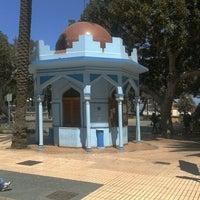 Photo taken at Parque San Telmo by Octavio C. on 9/13/2012