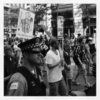 Photo taken at #OccupyChicago by Anthony R. on 5/20/2012