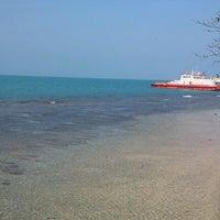 Photo taken at Gazzebo Pinggir Laut by firmana A. on 7/4/2012