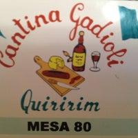 Photo taken at Cantina Gadioli by Antonio Eduardo F. on 6/10/2012