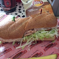 Photo taken at Firehouse Subs by Keely M. on 5/20/2012